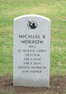 Mike Morrow headstone