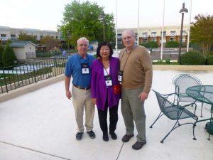 George Philip, Susan Schmid, John Schmid
